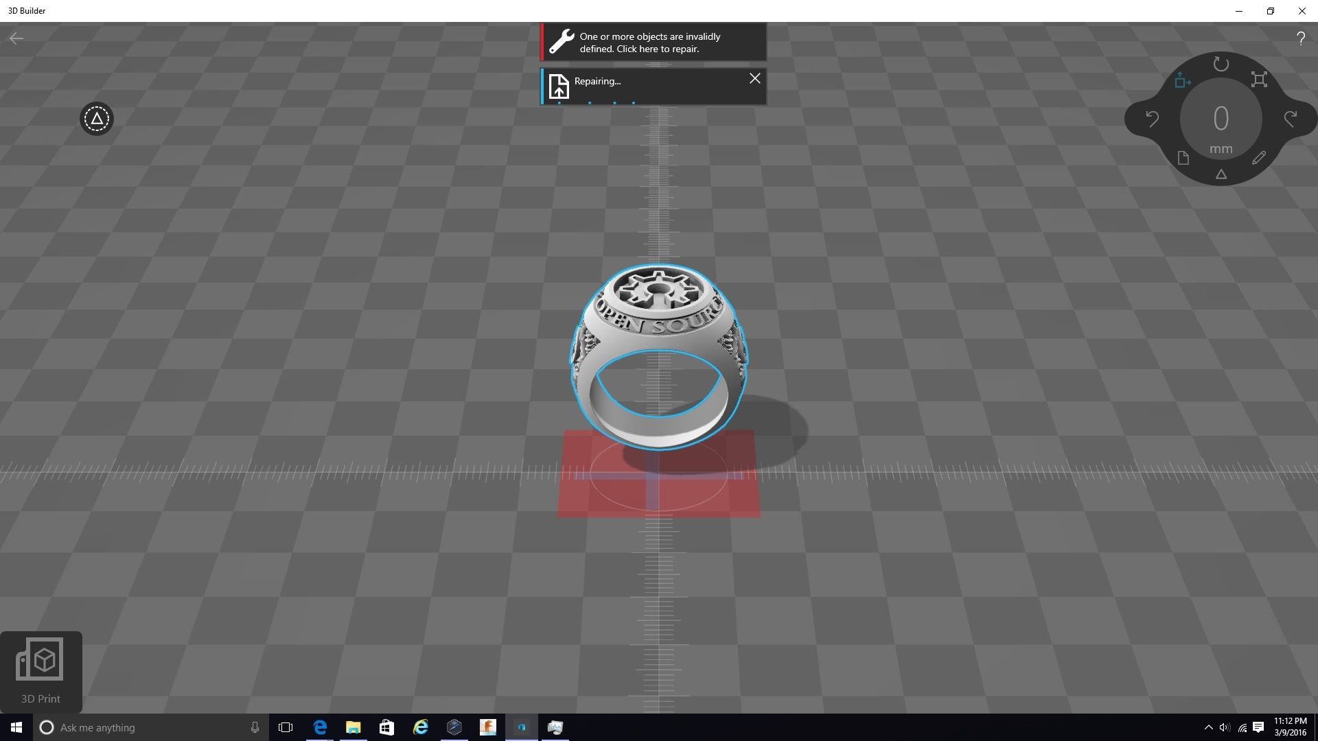 Scale axis doesn't rotate with object - Bug Report - FLUX Forum
